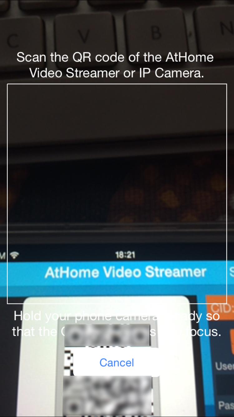 AtHome Caméra