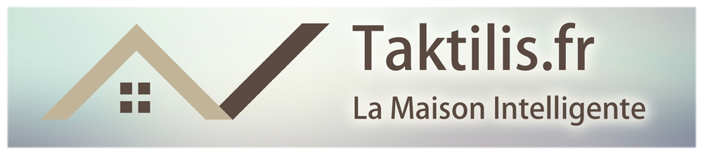 logo taktilis maison intelligente gris domotique