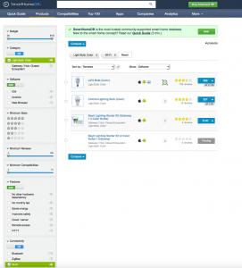 SmartHomeDB-Resultat-recherche-avec-filtre