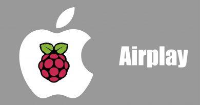 raspberry airplay shairplay
