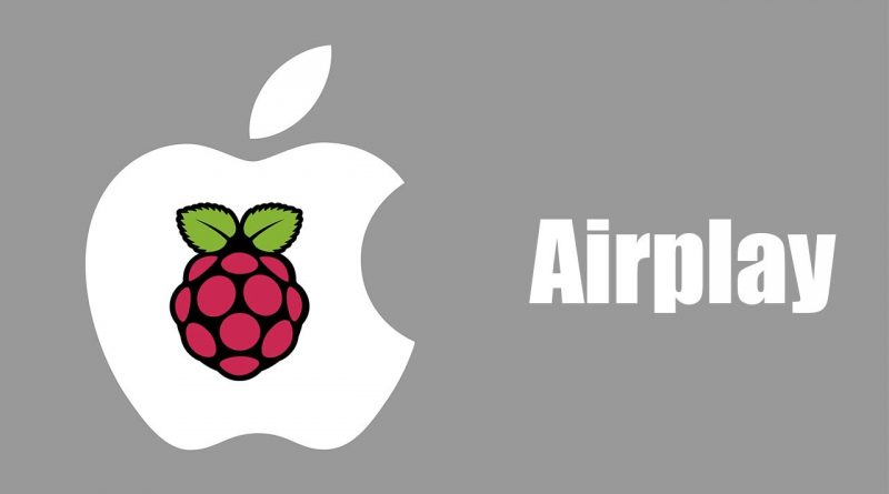 raspberry airplay shairplay